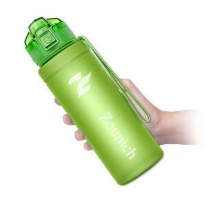 Motivierende Sport-Trinkflasche mit Zeitmarkierung