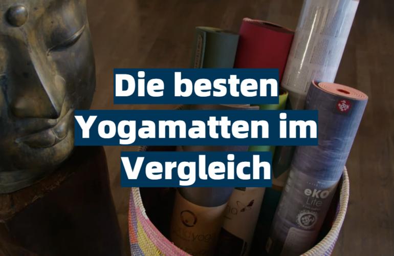 Yogamatte Test 2021: Die besten 5 Yogamatten im Vergleich