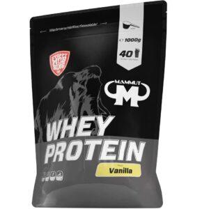 Mammut Nutrition Whey Protein Vanilla, 1000 g