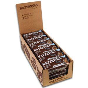 HAFERVOLL Flapjack Kakao Haselnuss, 18 x 65g Müsliriegel