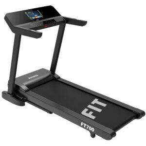 Fitifito FT700 Profi Laufband 3,5PS, 18 Steigung, Lauffläche 51x150cm, bis 130KG, kompatible mit 3 APPs, Multimedia Unterhaltung mit WIFI,16 Workouts, klappbar, LED Touchscreen bunt, Tablethalter, Bluetooth