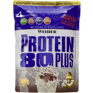 Weider Protein 80+ Stracciatella, 1er Pack(1 x 500 g)