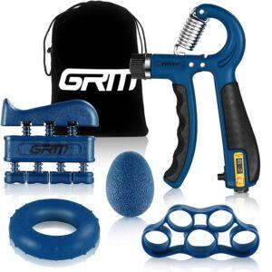 GRM Handtrainer Fingertrainer mit Zählfunktion-5er Set