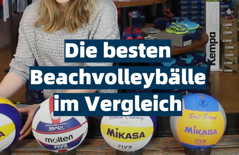 Beachvolleyball Test 2021: Die besten 5 Beachvolleybälle im Vergleich