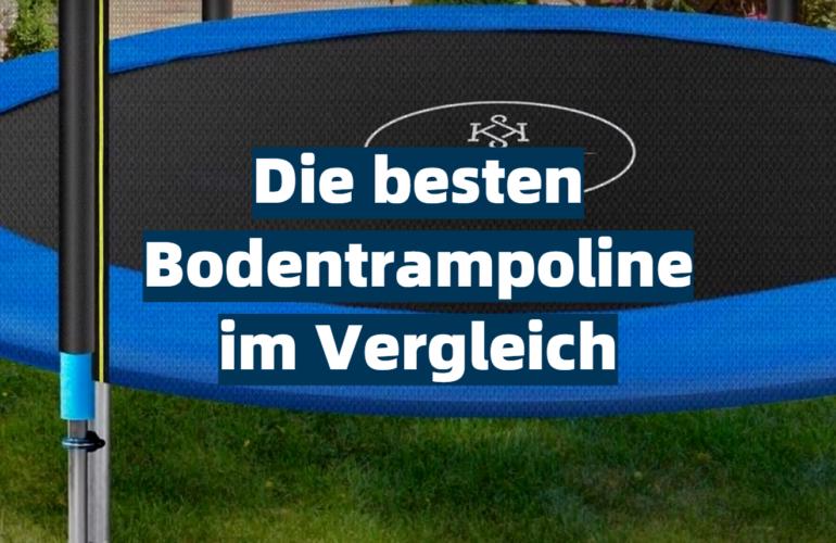 Bodentrampolin Test 2021: Die besten 5 Bodentrampoline im Vergleich