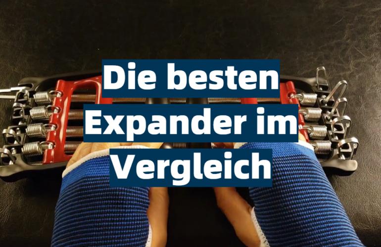 Expander Test 2021: Die besten 5 Expander im Vergleich