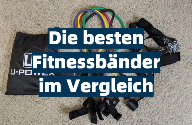Fitnessband Test 2021: Die besten 5 Fitnessbänder im Vergleich