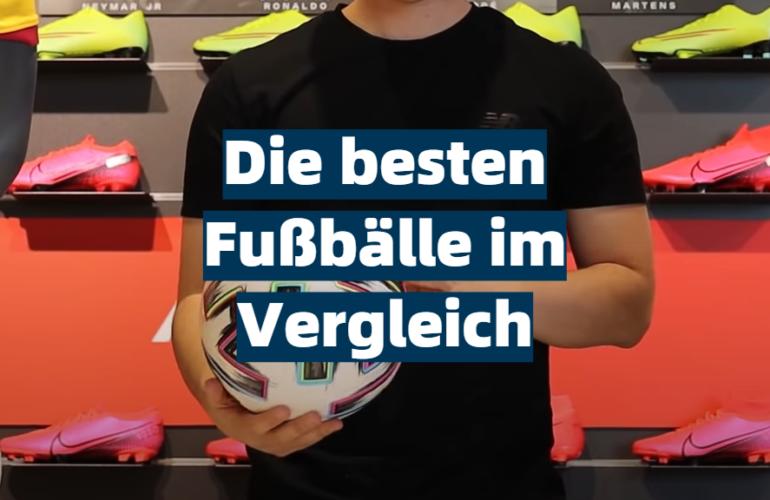Fußball Test 2021: Die besten 5 Fußbälle im Vergleich