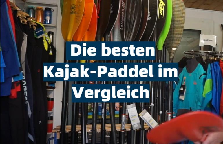 Kajak-Paddel Test 2021: Die besten 5 Kajak-Paddel im Vergleich