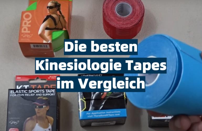 Kinesiologie Tape Test 2021: Die besten 5 Kinesiologie Tapes im Vergleich