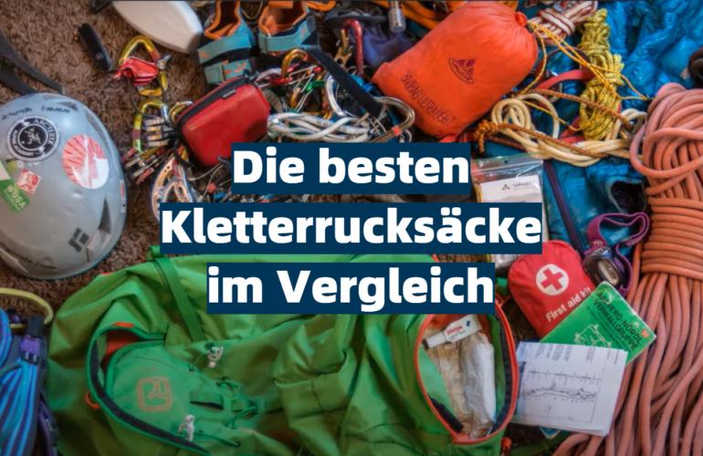 Kletterrucksack Test 2021: Die besten 5 Kletterrucksäcke im Vergleich