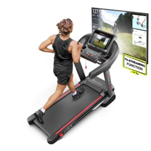 Sportstech F37 Profi Laufband-Deutsche Qualitätsmarke- Selbstschmiersystem,APP Kinomap