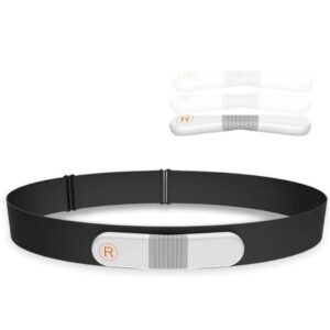 Herzfrequenz Brustgurt, Pulsmesser Herzfrequenzmesser mit Bluetooth und ANT+, Wasserdicht EKG Monitor Pulsgurt HRM-Run für Bewegung mit Alarm