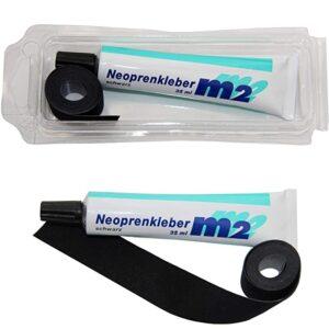 M2 Neopren Nahtband 25mm x 950mm