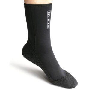 Pueri 3mm-Dicke Tauchsocken Neoprensocken, Wassersport Tauchen Schwimmen Socken, Easy Fit Schuhe für Schwimmen, Schnorcheln, Segeln, Surfen