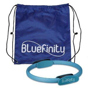 Bluefinity Pilates Ring, Doppelgriff, Gepolstert