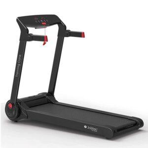Training Core Profi Laufband- Qualitätsmarke- bis 12,8 km/h, Klappbar, große Lauffläche, LCD-Display, bis 120kg