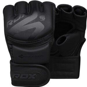 RDX MMA Handschuhe Schwarz Profi Training