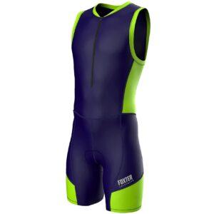 Triathlon-Anzug für Herren von Foxter, zum Schwimmen, Laufen, Fahrradfahren