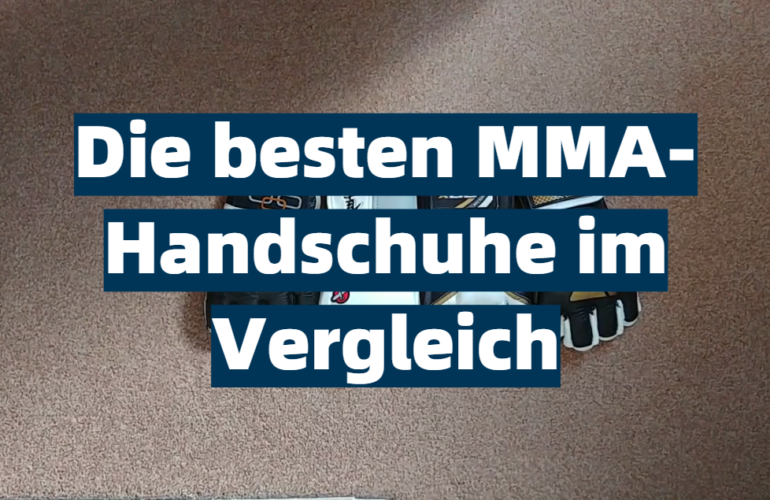MMA-Handschuhe Test 2021: Die besten 5 MMA-Handschuhe im Vergleich