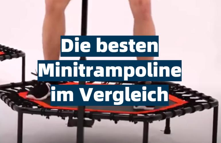 Minitrampolin Test 2021: Die besten 5 Minitrampoline im Vergleich