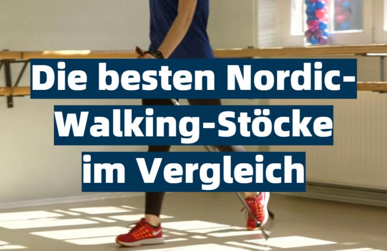 Nordic-Walking-Stöcke Test 2021: Die besten 5 Nordic-Walking-Stöcke im Vergleich